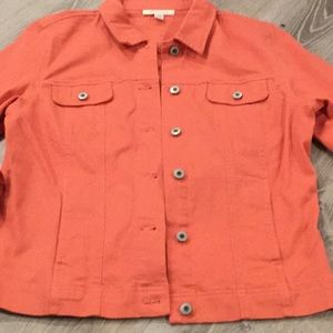 🧡 JM Collection~~Denim Style Jacket.   🧡